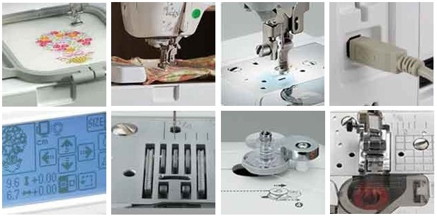 Brother SE4000 Combination Computerized Sewing And 400x400 Embroidery Enchanting Brother Se400 Computerized Embroidery And Sewing Machine