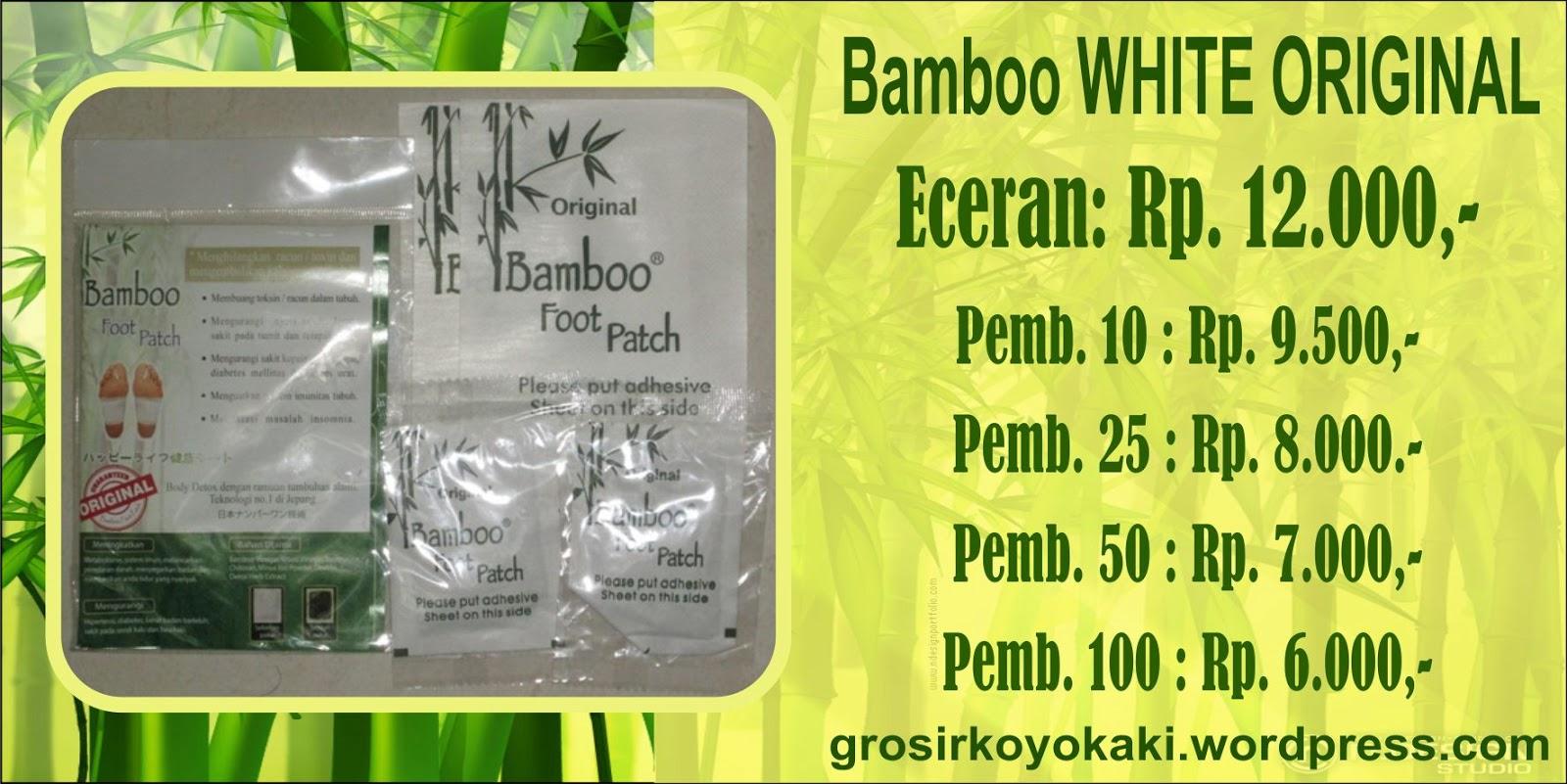 agen besar bamboo white original, bamboo gold surabaya, mengeluarkan racun dalam tubuh, 0856.4578.4363, www.ainanvision.com