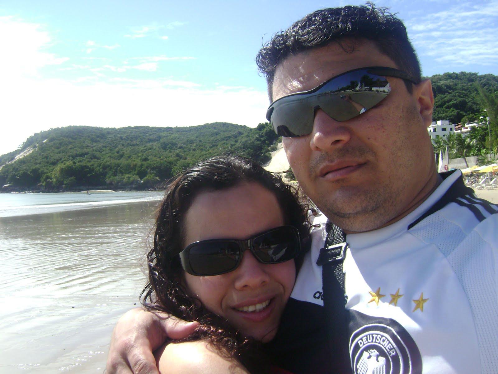 Eu e meu esposo Fran