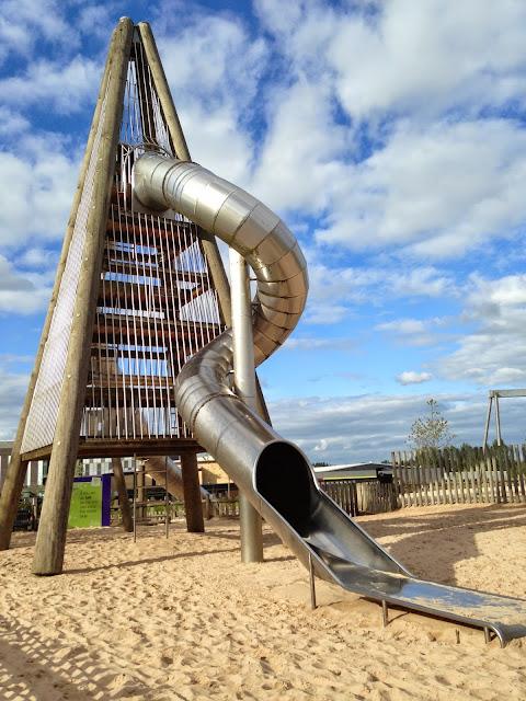 Telford Town Park - Rocket Slide