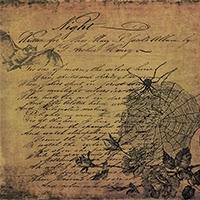 free halloween scrapbook paper vintage