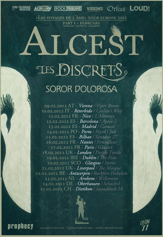 Alcest Tour St Louis