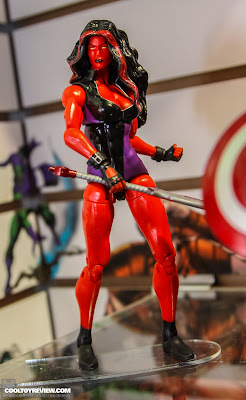 Hasbro 2013 Toy Fair Display Pictures - Marvel Legends - Red She-Hulk