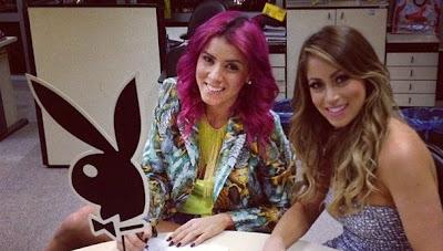 Playboy (Panicats) Carol Narizinho e Thaís Bianca   Dezembro de 2012