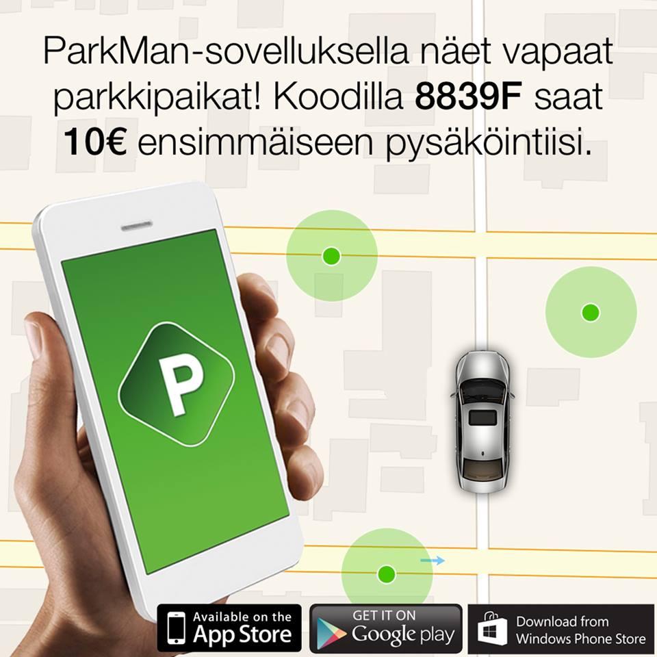Parkman-koodi 8839F
