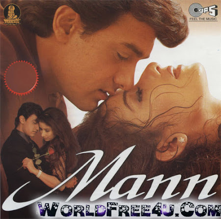 Poster Of Hindi Movie Mann 1999 Full HD Movie Free Download 720P Watch Online