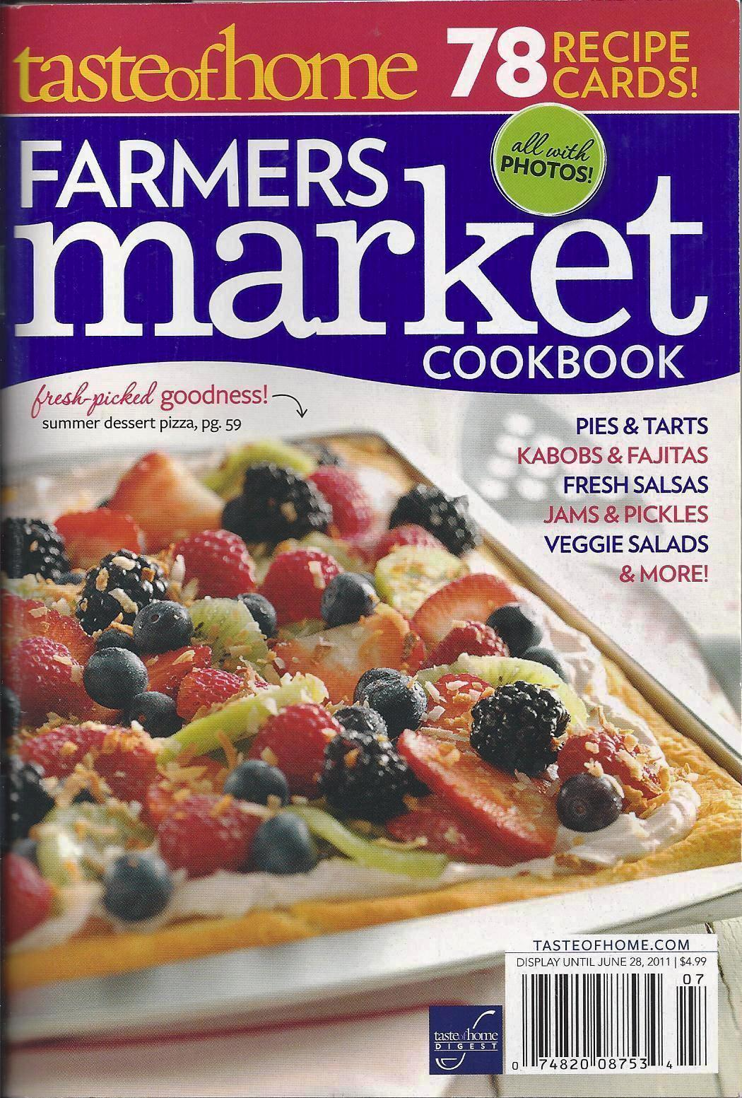 Farmer Books Farmer's Market Cook Book