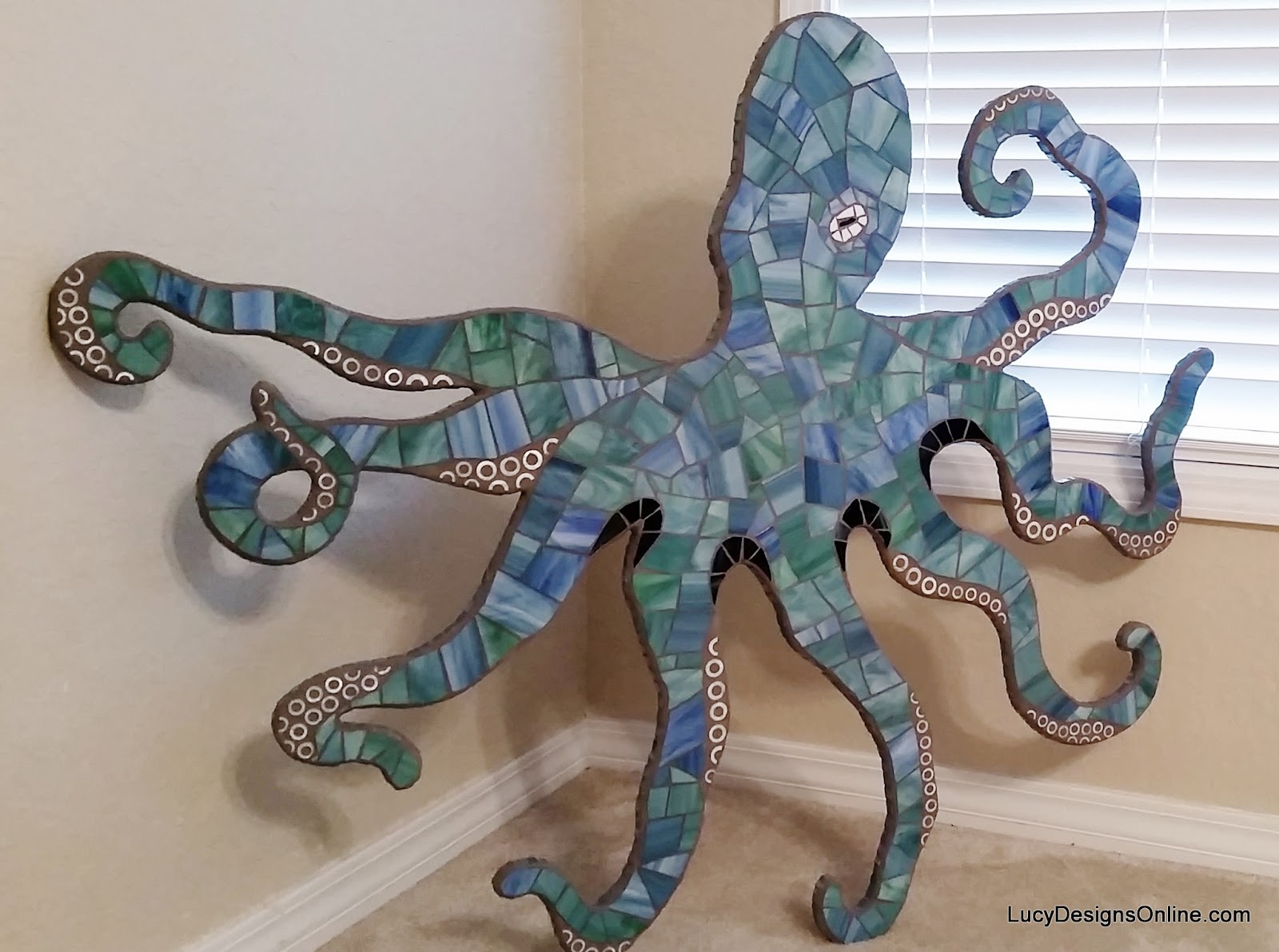 mosaic octopus art