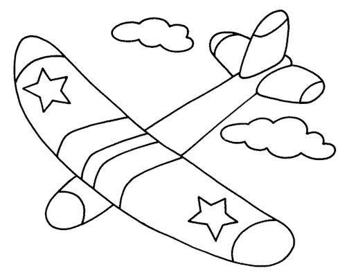 Los medios de transporte aereos para colorear - Imagui