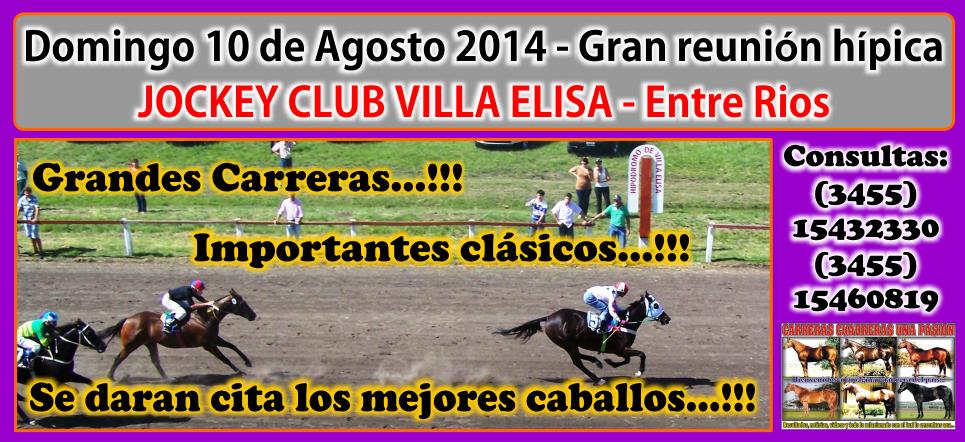 VILLA ELISA - REUNION 10.08.2014