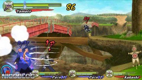 Screenshot Gameplay Naruto Shippuden: Ultimate Ninja Heroes 3