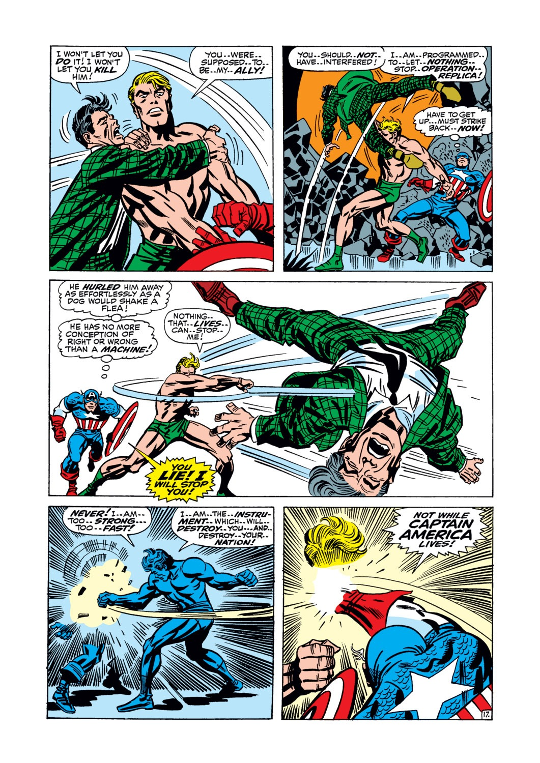Captain America (1968) Issue #106 #20 - English 18
