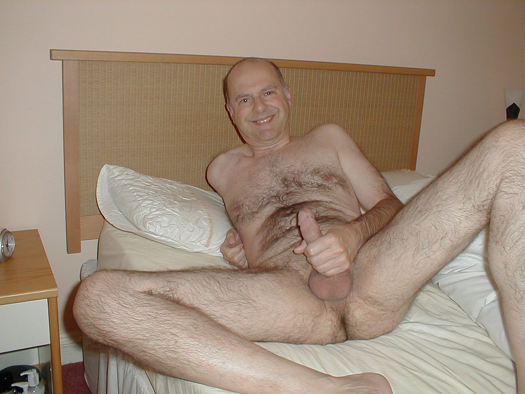 Not Hairy mature men naked daddy