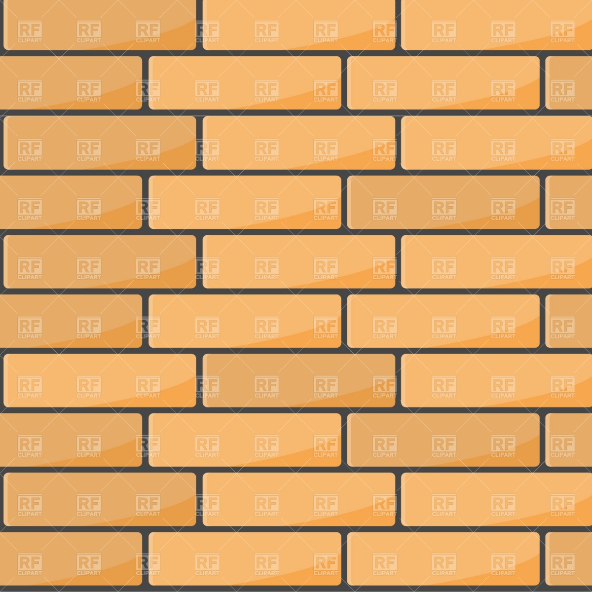 Brick Wall Stock Vectors Clipart and Illustrations