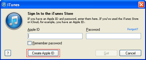how to create your own itunes account