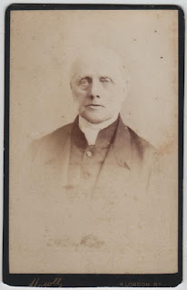 Carte de visite of a gentleman, by Mowls, King's Lynn, Norfolk