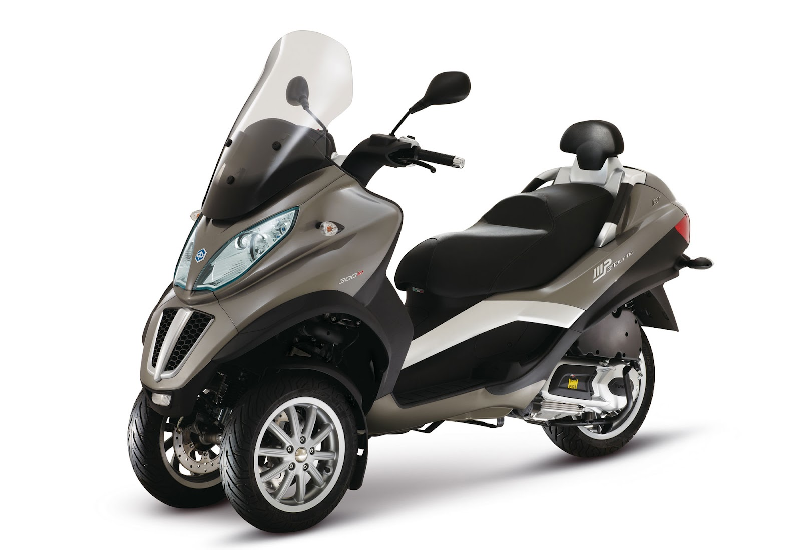 2012 piaggio mp3 touring lt 300 i e review motorcycle news. Black Bedroom Furniture Sets. Home Design Ideas