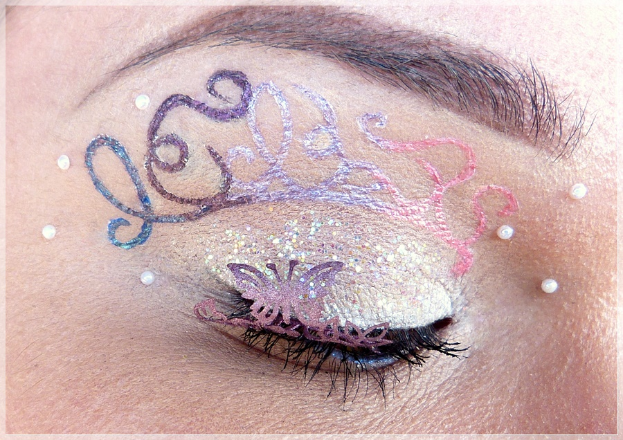 fairytale eye make up