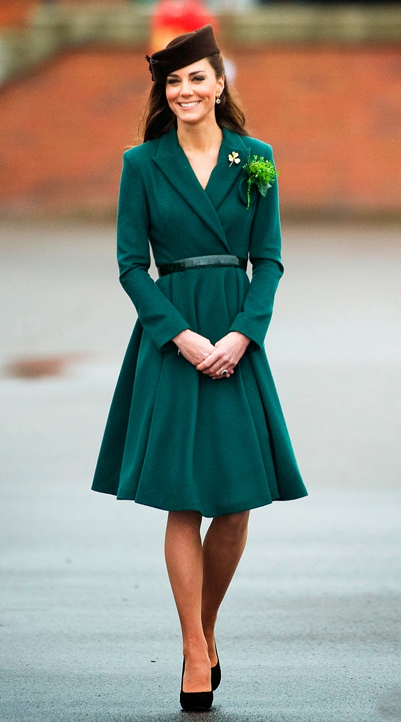 Kate Middleton de Emilia Wickstead