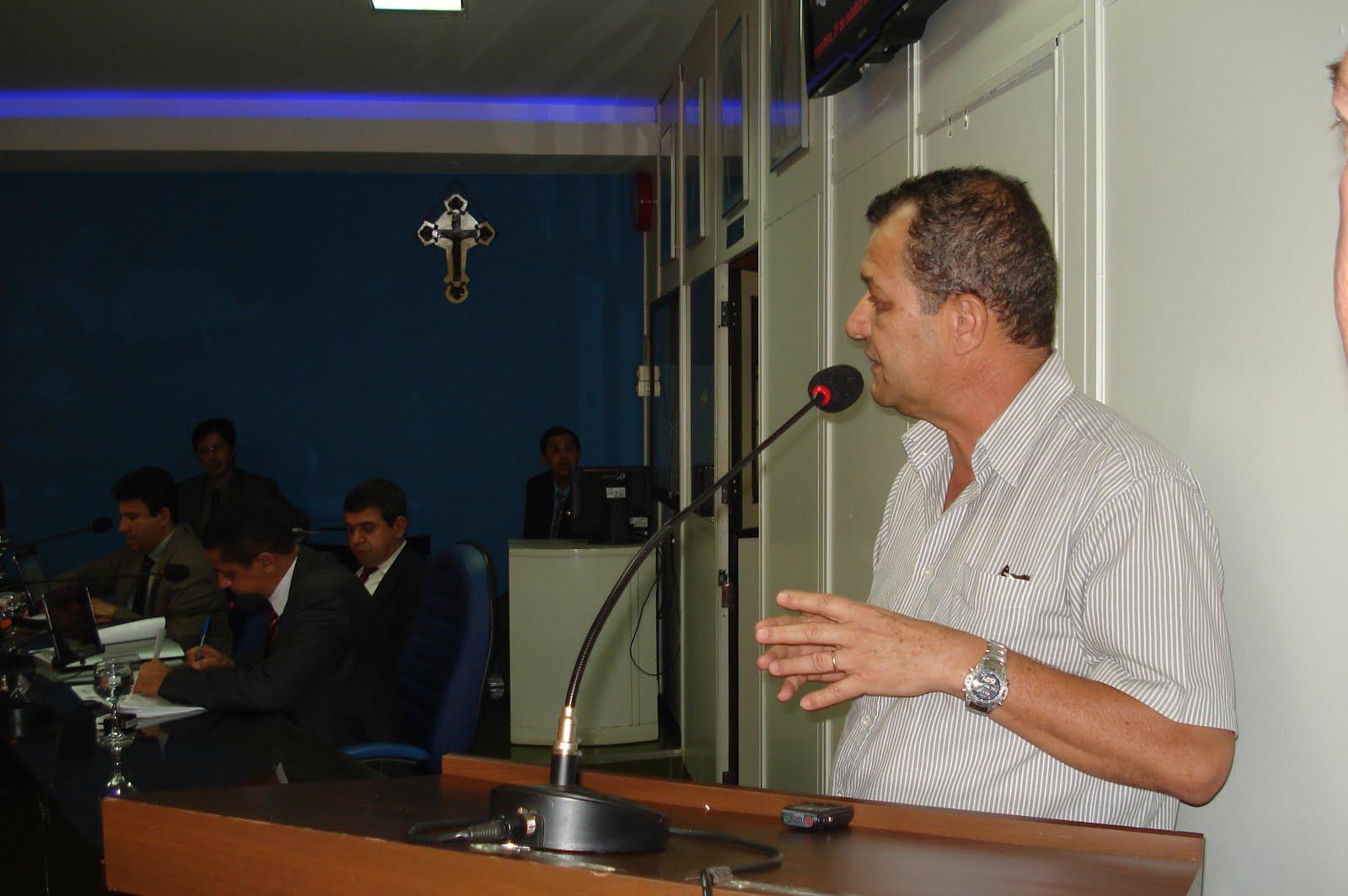 Sessão na Câmara Municipal de Jataí