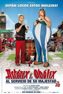 Astérix y Obélix: Al Servicio de su Majestad Poster