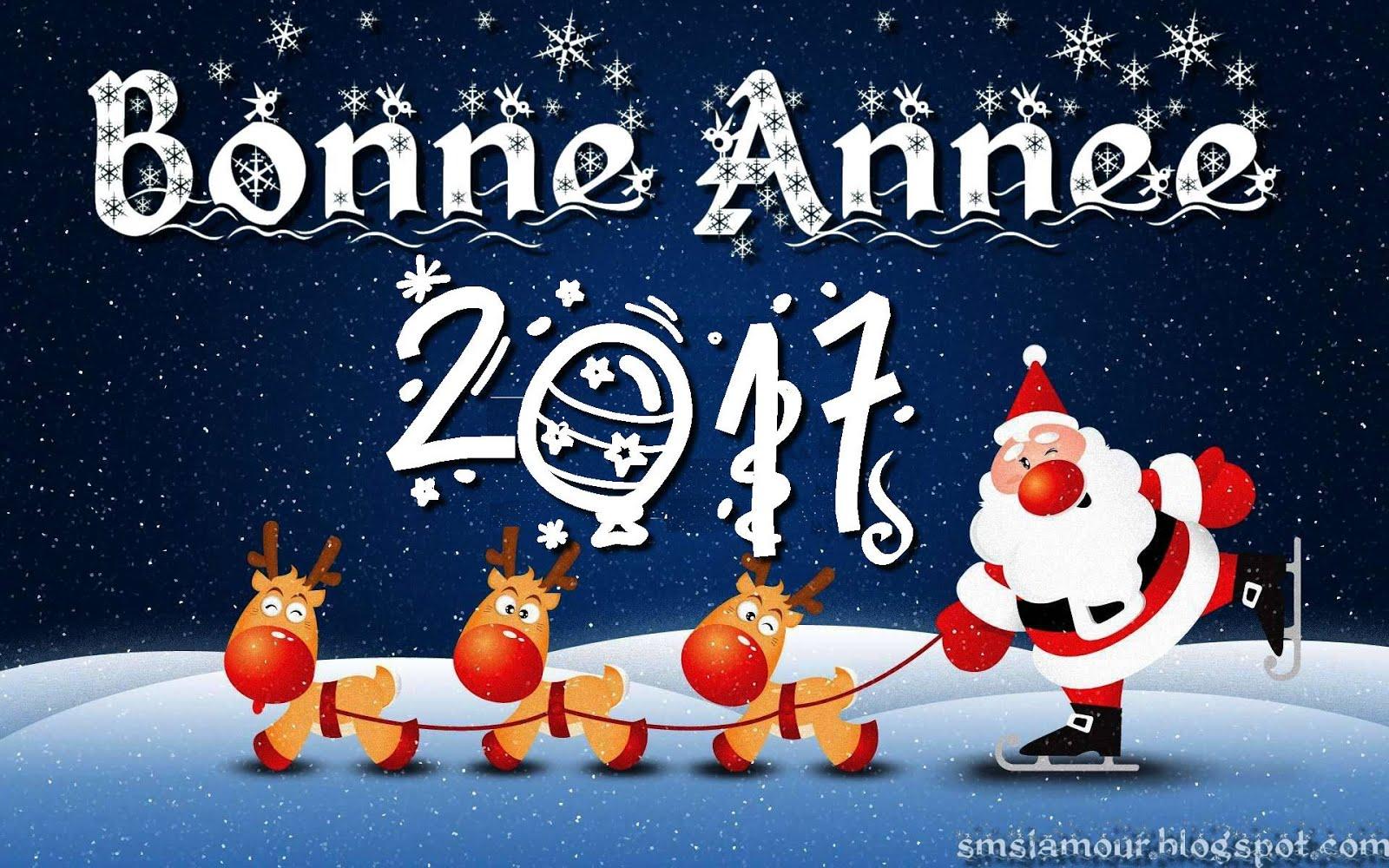 Message bonne année 2017