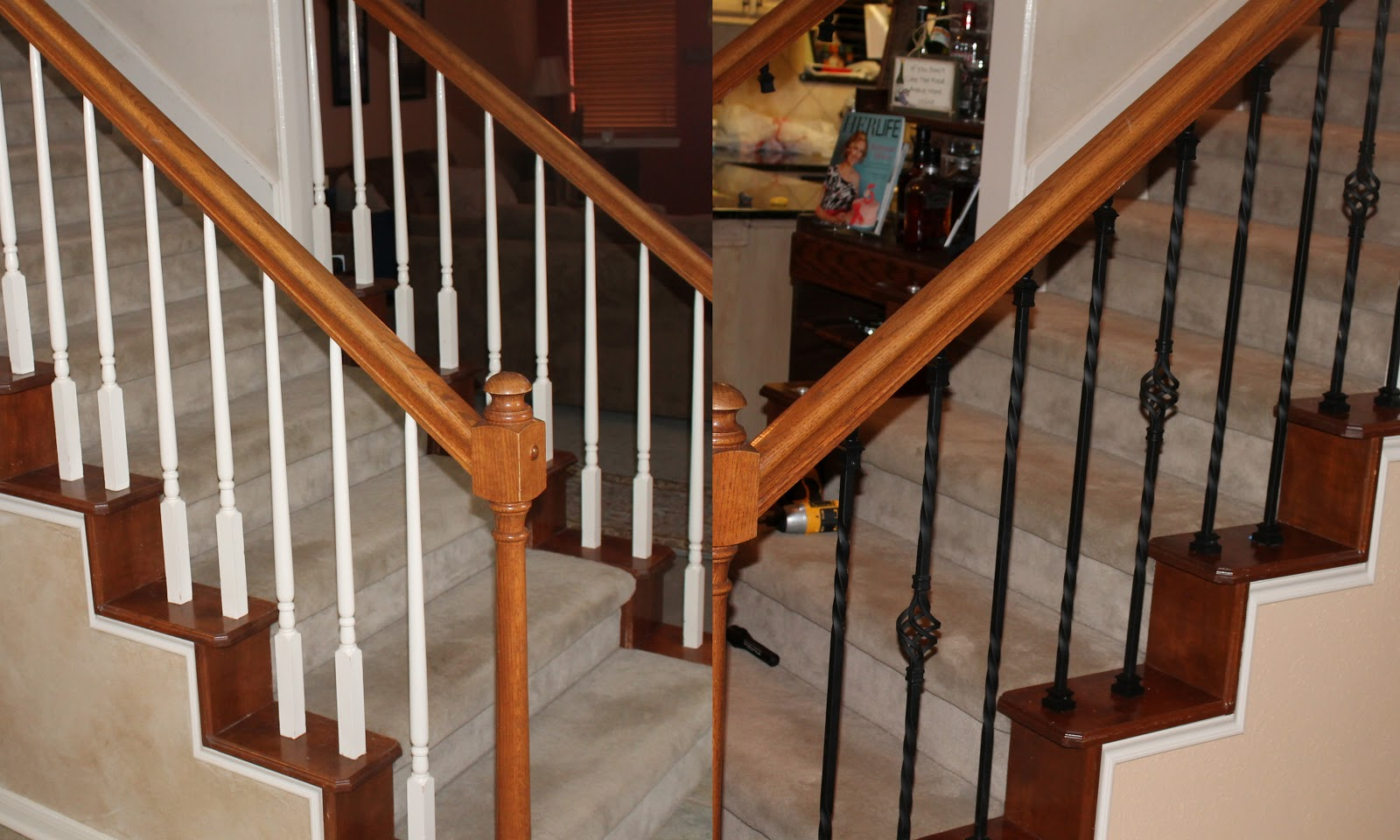 He stole my heart so i stole his last name 19 weeks - Home depot interior stair railings ...