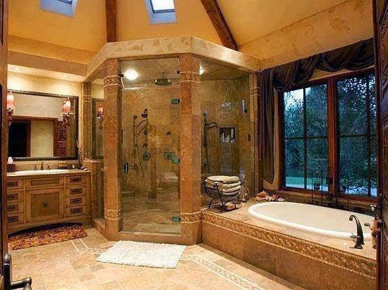 Desain kamar mandi rumah mewah