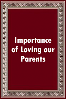 E-Book - The Importance Of Loving Our Parents