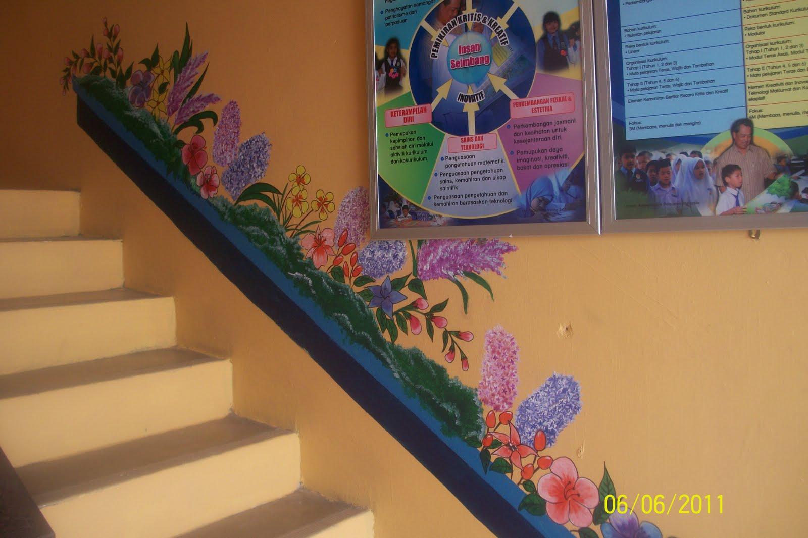 Contoh mural for Mural sekolah