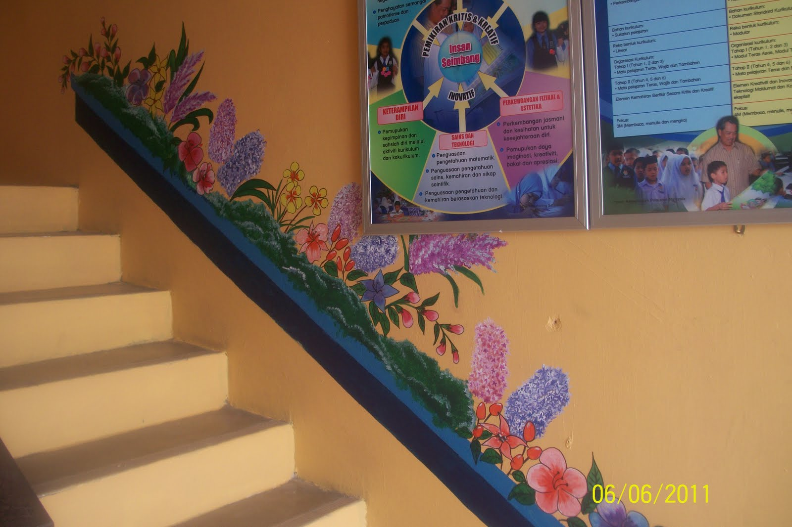 contoh hiasan di tadika