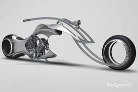 รถมอเตอร์ไซค์ในอนาคต Speeding Motorbikes Future