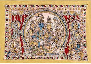 Kalamkari Folk Art