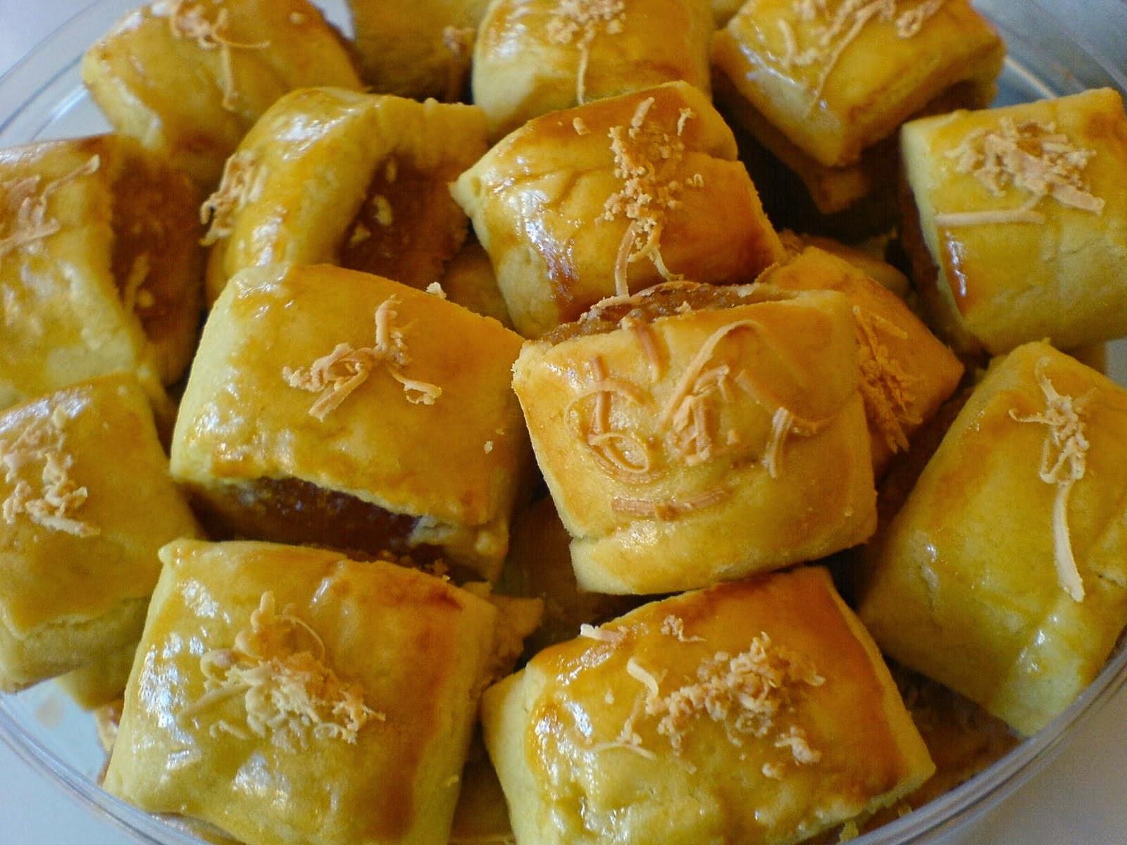 resep kue kering lebaran nastar keju selai nanas spesial