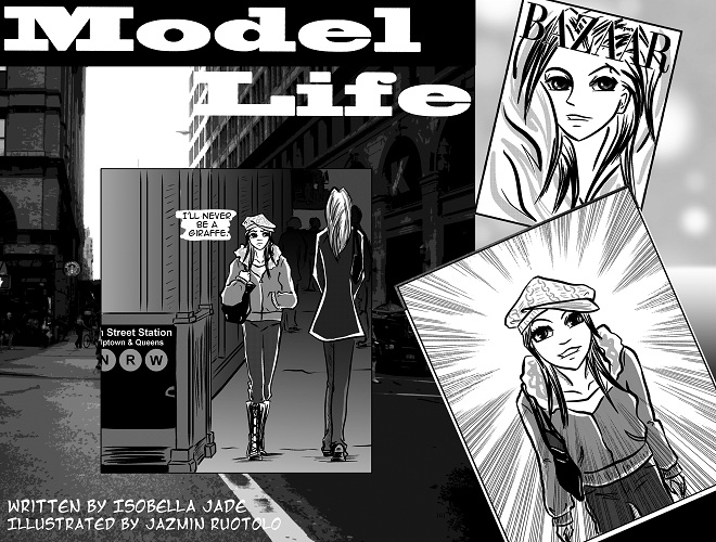 Model Life as a mobile comic! It's the hottest graphic novel on the iPhone.