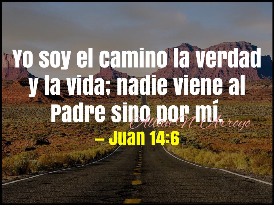 yo soy el camino: