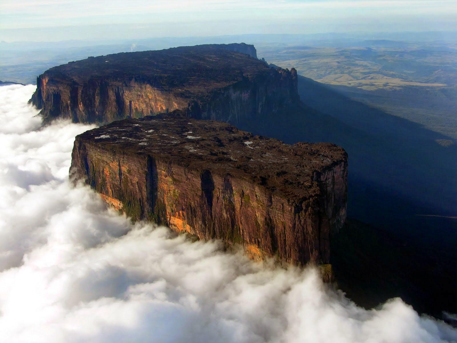 gambar2 Keajaiban Dunia Gunung Roraima
