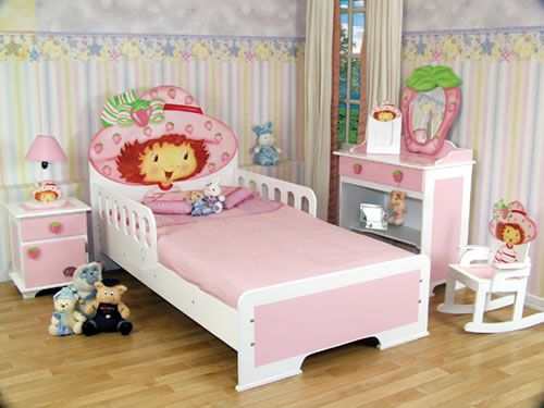 DORMITORIO DE FRESITA FRUTILLITAS TARTA DE FRESAS STRAWBERRY SHORTCAKE BEDROOM by dormitorios.blogspot.com