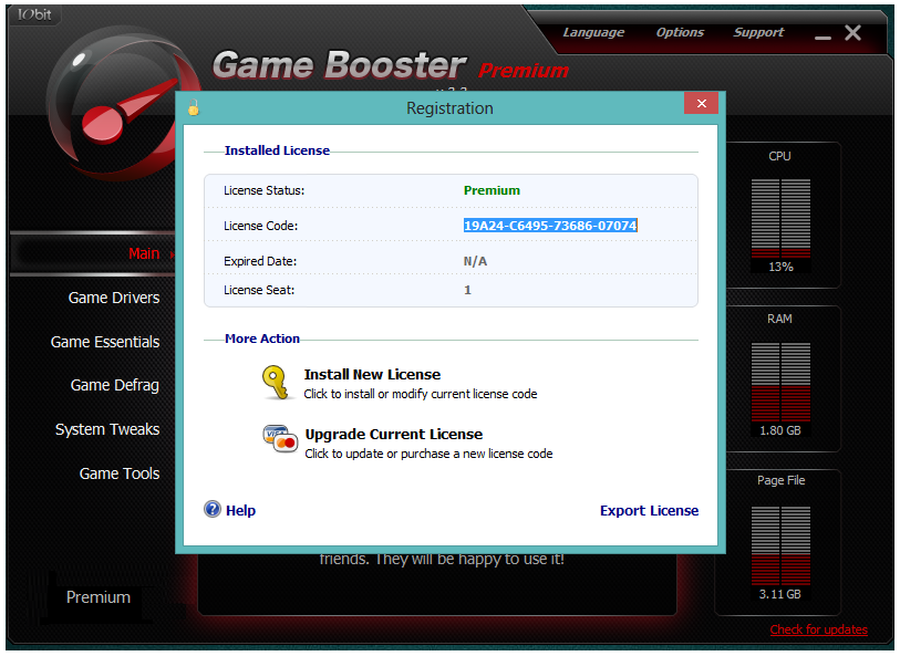 http://www.freesoftwarecrack.com/2014/09/iobit-game-booster-2.2-with-crack-download.html