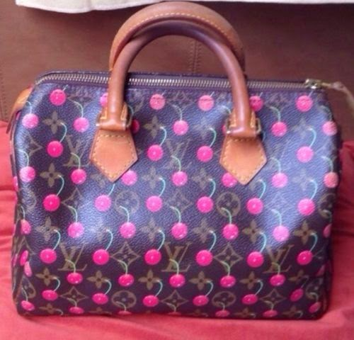 Louis Vuitton Cerises Speedy Gorgeous Handbag