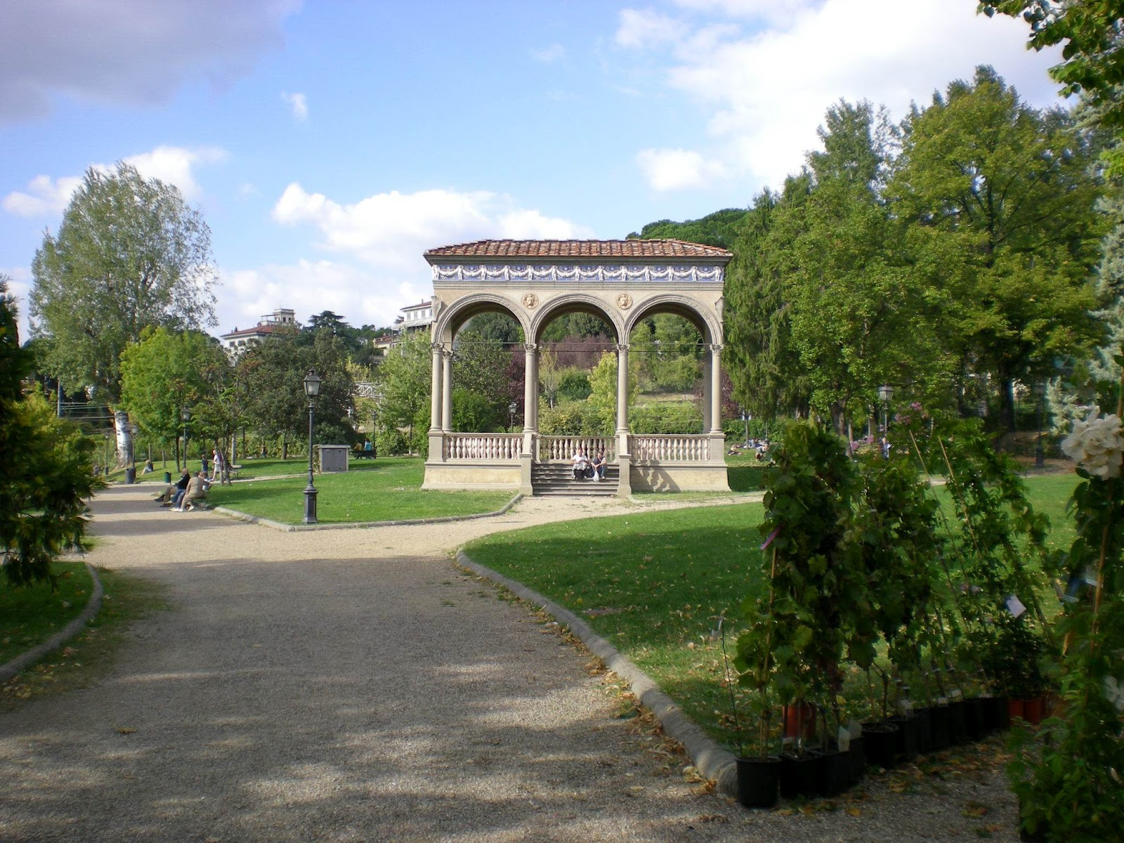 Io amo firenze eventi estivi al giardino dell 39 orticoltura for Giardino orticoltura firenze aperitivo