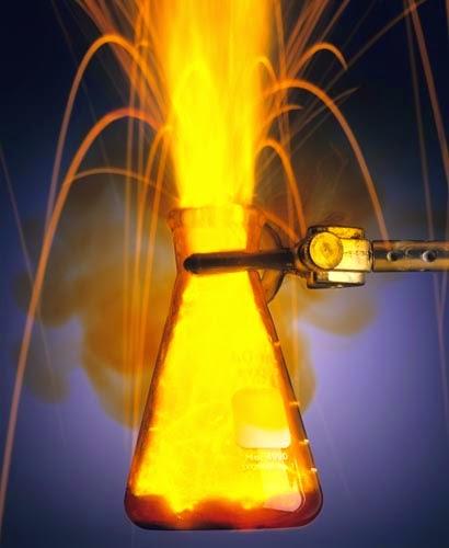 sodium-water explosion