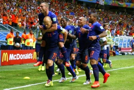 Belanda vs Meksiko
