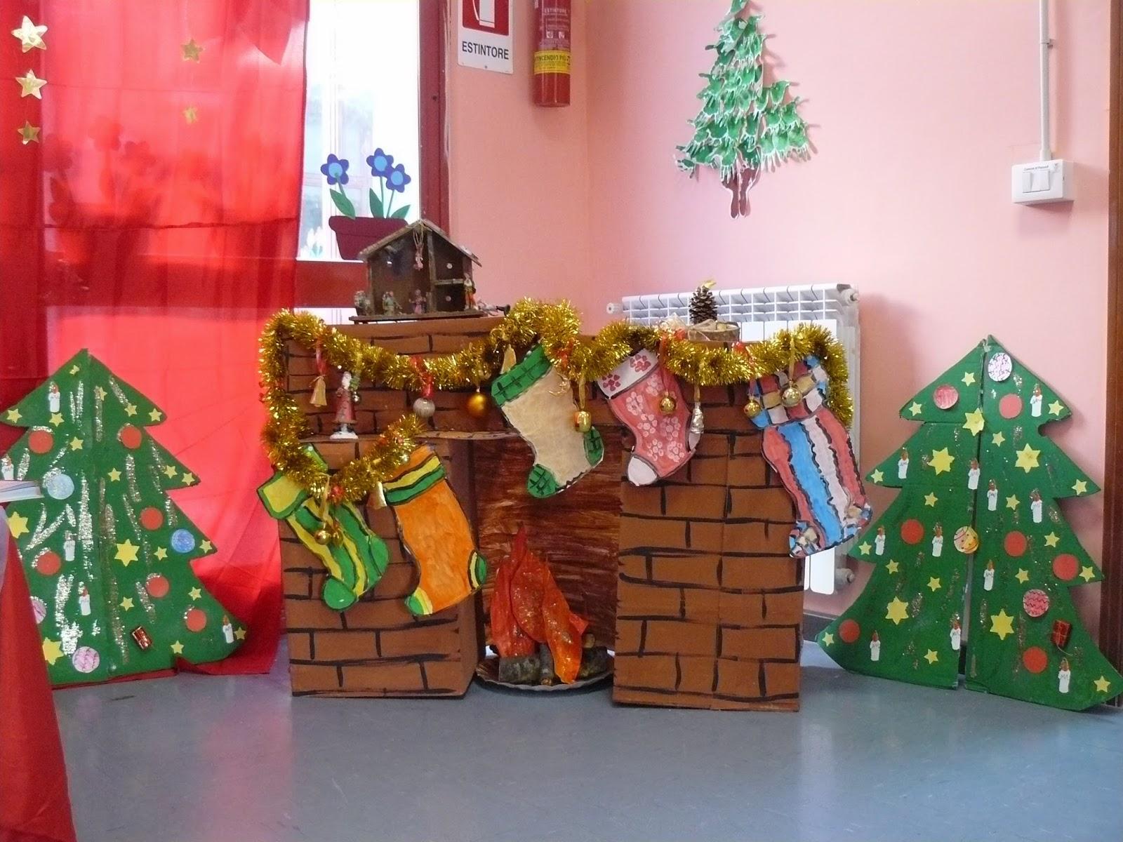 Laboratorio emozioni e creativit addobbi natalizi for Addobbi scuola infanzia