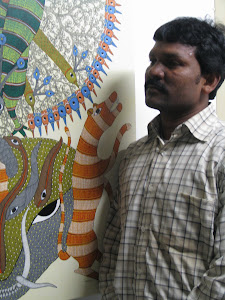 Gond art in Nottingham