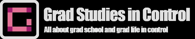 Grad Studies in Control