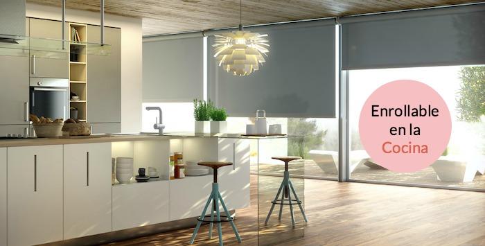 Una pizca de hogar a o nuevo cortinas nuevas for Stores para cocinas