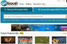 Gif Soup: crear gif animados con videos de YouTube
