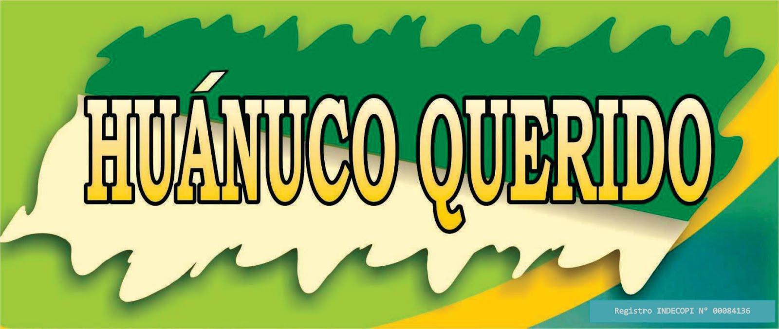 HUÁNUCO QUERIDO - Síguenos en Facebook