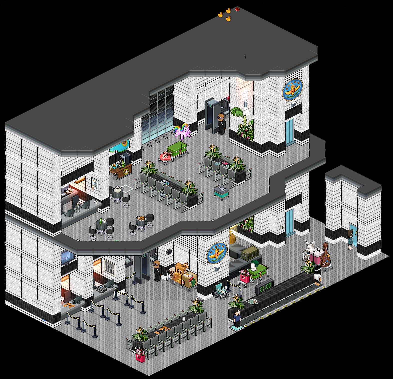 Salas De Estar No Habbo ~ Habbocico  Por trás dos Pixels Janeiro 2016